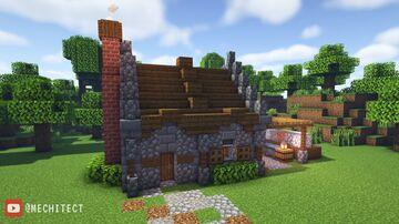 Medieval Stone Mason Minecraft Map & Project