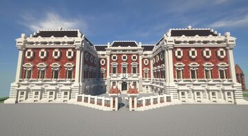 Baroque Palace [In Progress] Minecraft Map & Project