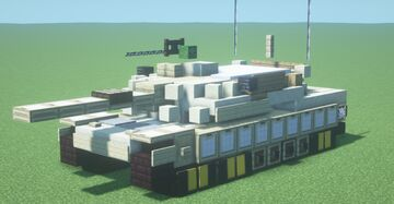 """IPM1/M1 """"Abrams"""" (1.5:1 scale) Minecraft Map & Project"""