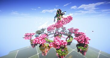 Nature Queen Minecraft Map & Project