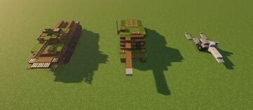 Vehicles pack Minecraft Map & Project