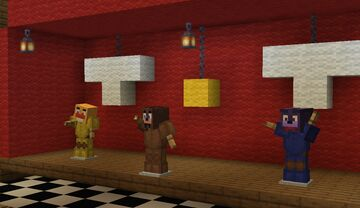 FNaF 1 PIZZERIA Minecraft Map & Project