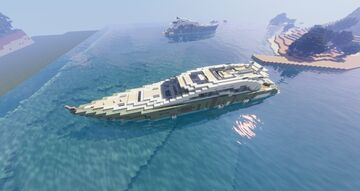 Olive Green Yachts Minecraft Map & Project