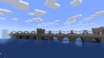 Medieval Fever (10) - Bridge - diagonal Minecraft Map & Project