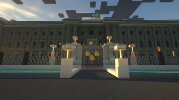 Acton Palace (heavily inspired by Buckingham Palace) Minecraft Map & Project