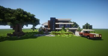 Small Modern House #5 (map download) 🏡 Minecraft Map & Project