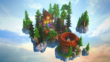 Medieval SkyBlock Spawn Minecraft Map & Project