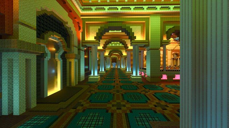 Main Room Hallway Screenshot