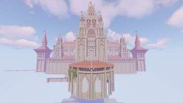 Guild Wars 2 [GW2] - Divinity's Reach Castle and Garden Minecraft Map & Project