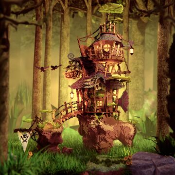 Beautiful Fantasy House Minecraft Map & Project