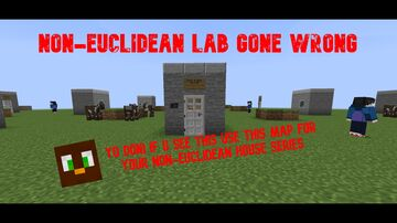 Non-Euclidean lab gone wrong Minecraft Map & Project