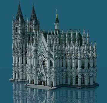 ✣  Classic Cathedral  ✣ Minecraft Map & Project
