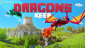 Dragons Keep | Avalable now on the Minecraft Marketplace! Minecraft Map & Project