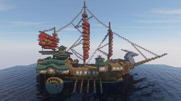 Genshin Impact Beidou's Ship  [Download] Minecraft Map & Project