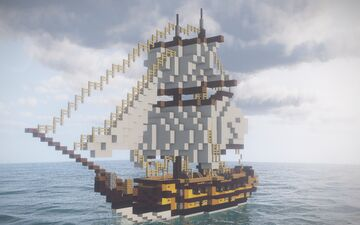 HMS Fatality Minecraft Map & Project