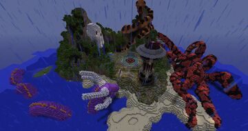 LOBBY / WAITING LOBBY + DOWNLOAD MAP (300x300) - Fantasy + Medieval Minecraft Map & Project