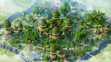 Nature spawn + warzone by Bubble Minecraft Map & Project