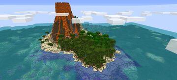 Stranded Island [1.16.5] ( HARDCORE SURVIVAL CHALLANGE) Minecraft Map & Project