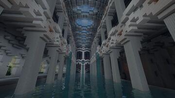 Les bains du palais royale de Vergalion Minecraft Map & Project