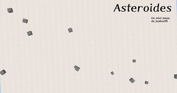 Asteroids, si enserio Minecraft Map & Project