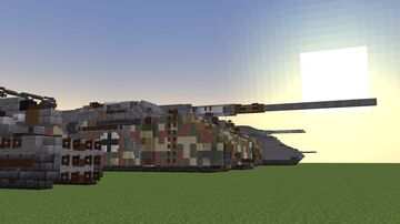 Landkreuzer P. 1500 Monster redo (1.5:1) Minecraft Map & Project