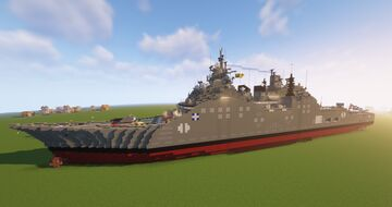 Nautilus Class Stealth Cruiser (Fictional) Minecraft Map & Project