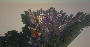 Medium Server Hub ❯ Medieval Dark Carnival Minecraft Map & Project