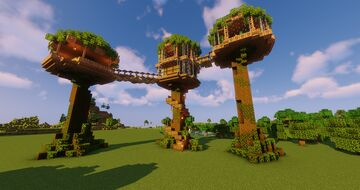 Tree House - PRO Minecraft Map & Project