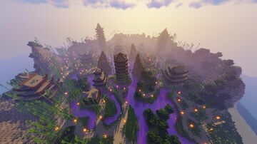 Murasaki no Kiri! A Minecraft World Showcase Minecraft Map & Project