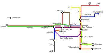 UNION CITY METRO Minecraft Map & Project