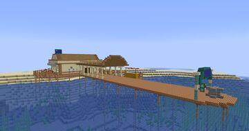 Tropico 6 Tourist Port Minecraft Map & Project