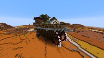Rolling fortress Minecraft Map & Project