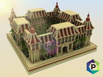 Desert Castle Hub | 1.8+ Minecraft Map & Project