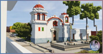 Old Mexican Style Town | ERT Minecraft Map & Project
