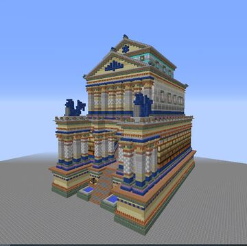 Hellenistic tomb of Abraham Minecraft Map & Project