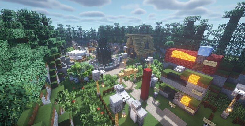 Main spawn area