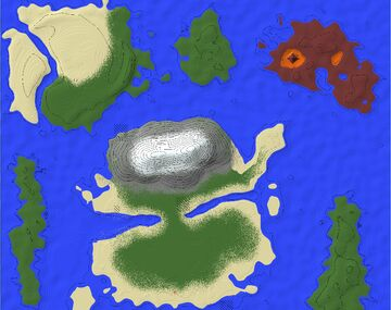 1.12 large island map Minecraft Map & Project