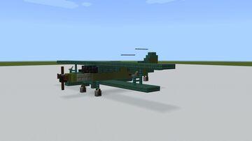 1.5:1 Antonov An-2 Minecraft Map & Project