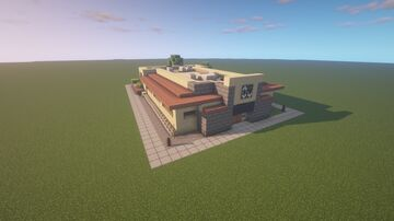 Olive Garden, Salt Lake City, Utah Minecraft Map & Project