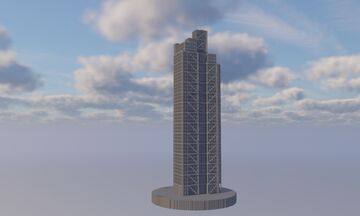Heron Tower Skyscraper | London 1:1 Project Minecraft Map & Project