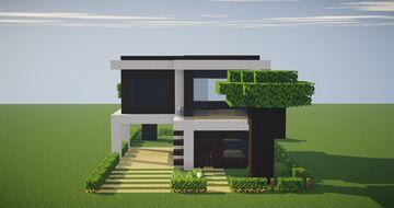 Casa Pequena Moderna Minecraft Map & Project