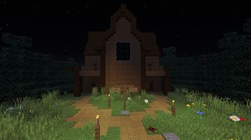 The Mysterious Mansion Minecraft Map & Project