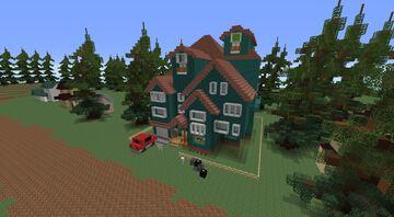 Hello Neighbor Remastered Rework (Pre-Alpha Demo) Minecraft Map & Project