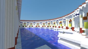 Nympaeum Dieta Apollinis 320ad Minecraft Map & Project