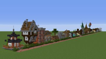 100 little Houses in Minecraft Minecraft Map & Project