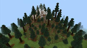 Świerkowa góra, Spruce mountain (Bedrock Edition) Minecraft Map & Project