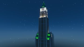 Woolworth Building Minecraft Map & Project