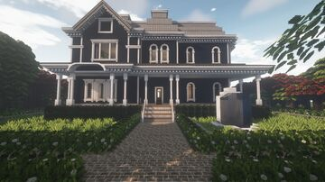1800's Style Victorian Home - Cocricot Minecraft Map & Project