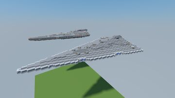 Turbulent Class Star Destroyer 12.2 Minecraft Map & Project