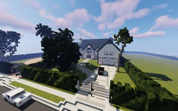 LA-Style Home Minecraft Map & Project
